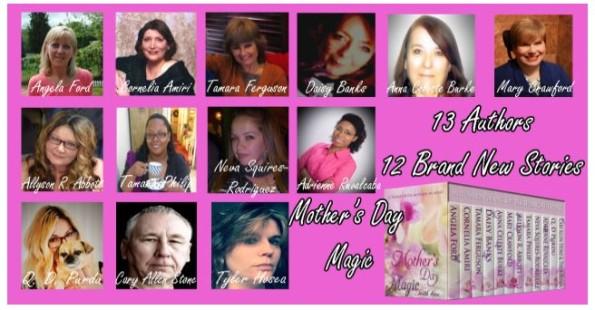 13 authors